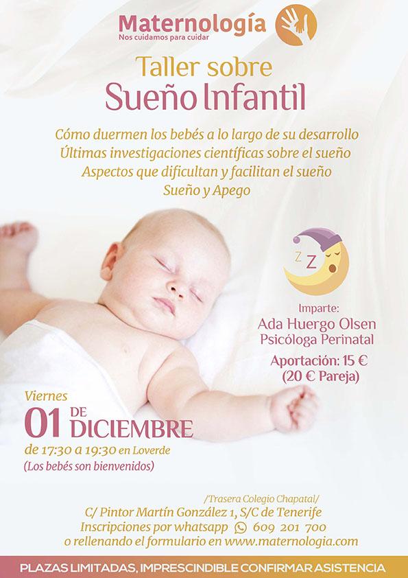 TALLER SOBRE SUEÑO INFANTIL